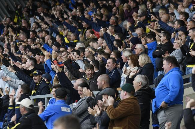 Fans could be back at the Kassam Stadium next month Picture: David Fleming