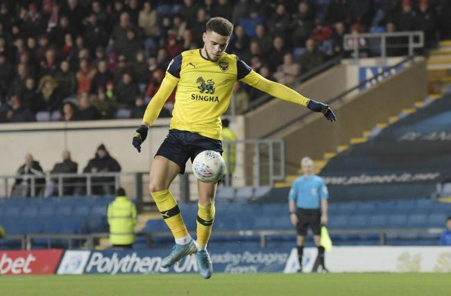 Marcus Browne was influential after coming on at half-time for Oxford United  Picture: David Fleming