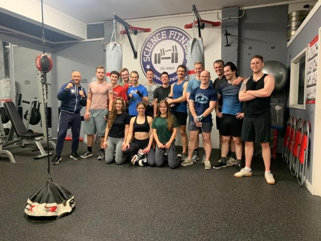Boxers at Science Fitness Studio in Oxford