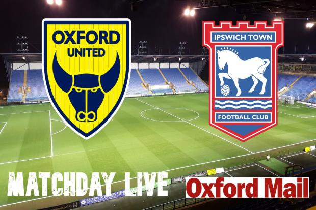 UPDATES: Oxford United v Ipswich Town