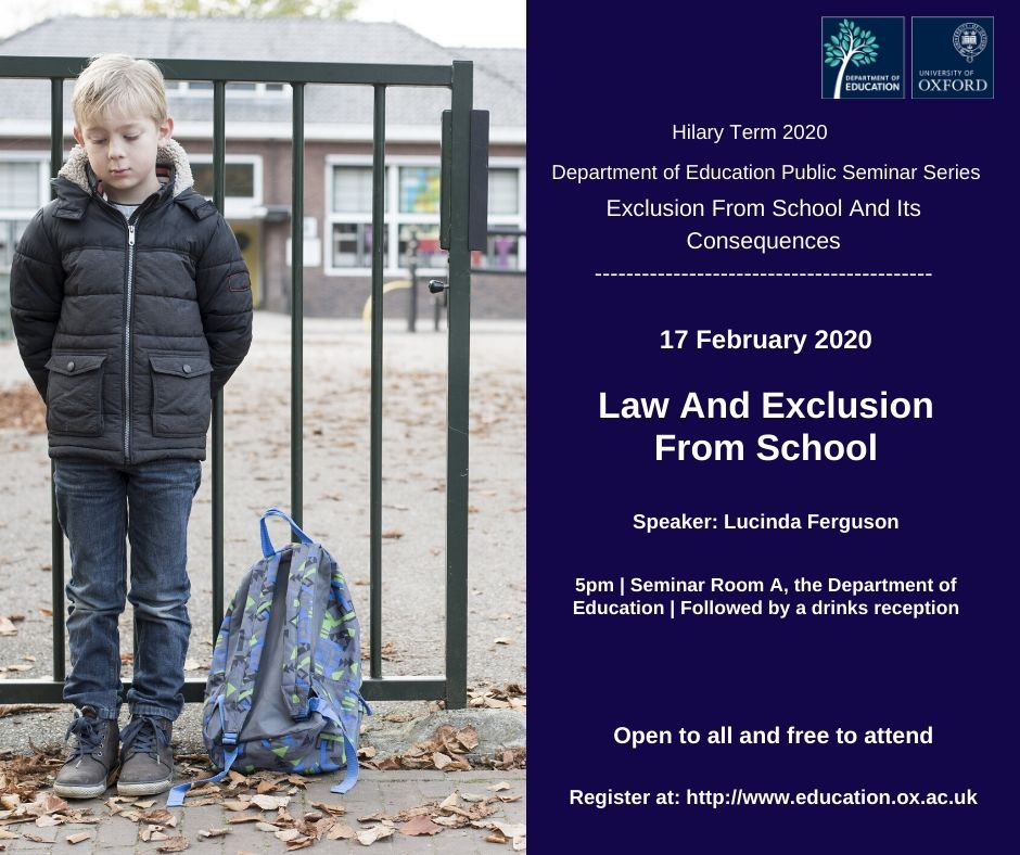 Law And Exclusion From School