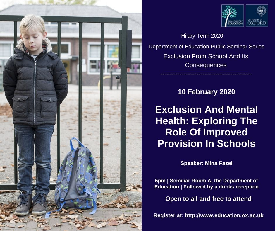 Exclusion & Mental Health: The Role Of Improved Provision In Schools