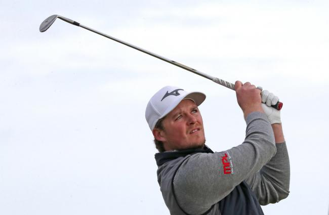 Eddie Pepperell Picture: Jane Barlow/PA Wire