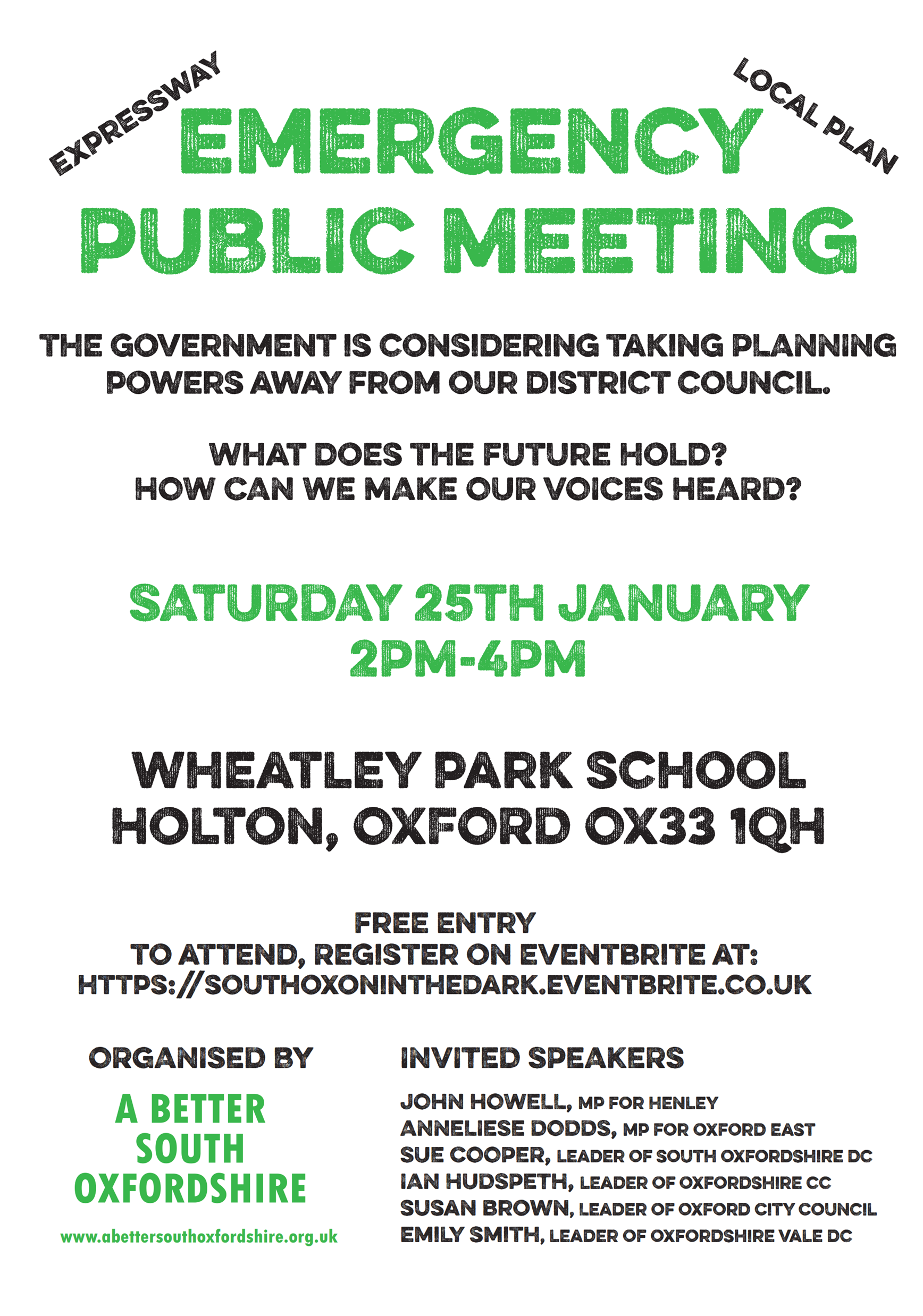 A Better South Oxfordshire Public Meeting