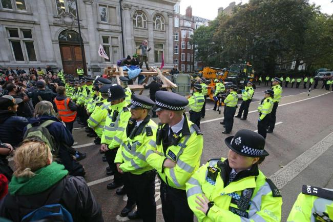 Extinction Rebellion listed alongside neo-Nazis on UK counter-terrorism document