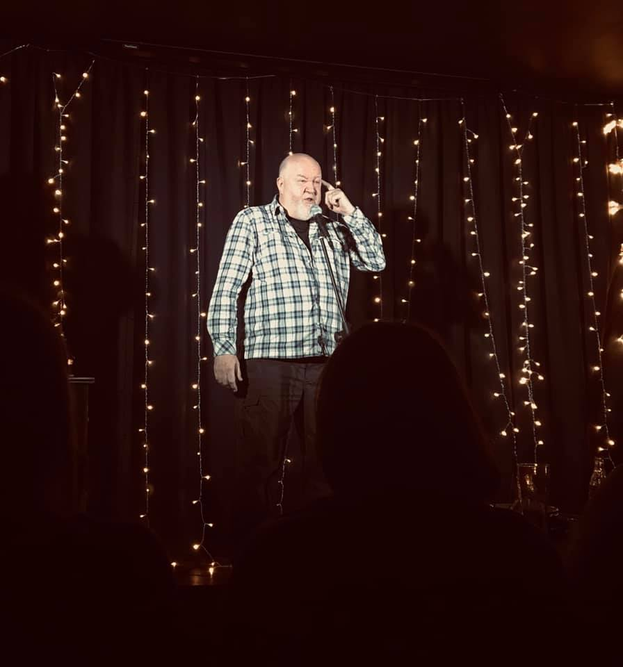 Wantage comedian Kieran Hearty is 'cleaning up' comedy