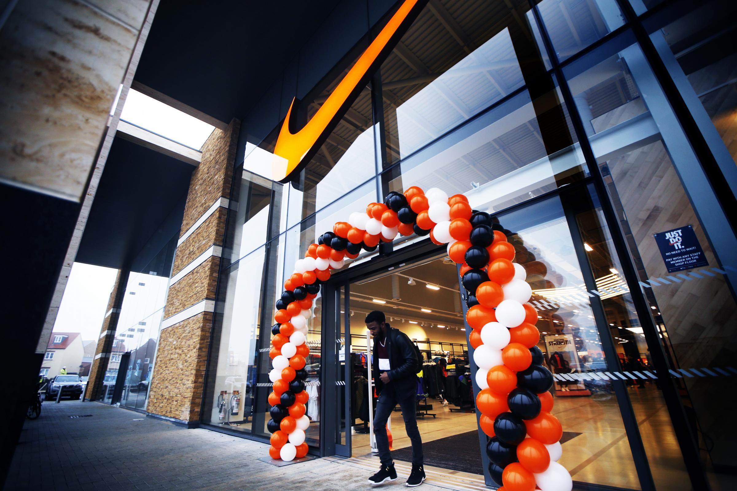 First look into the Nike outlet shop at Bicester Shopping Park