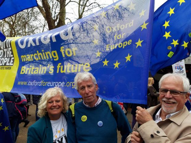 Oxford's plans to show support for EU on Brexit Day