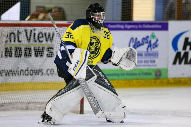 Netminder Ross Miller Picture: Paul Foster