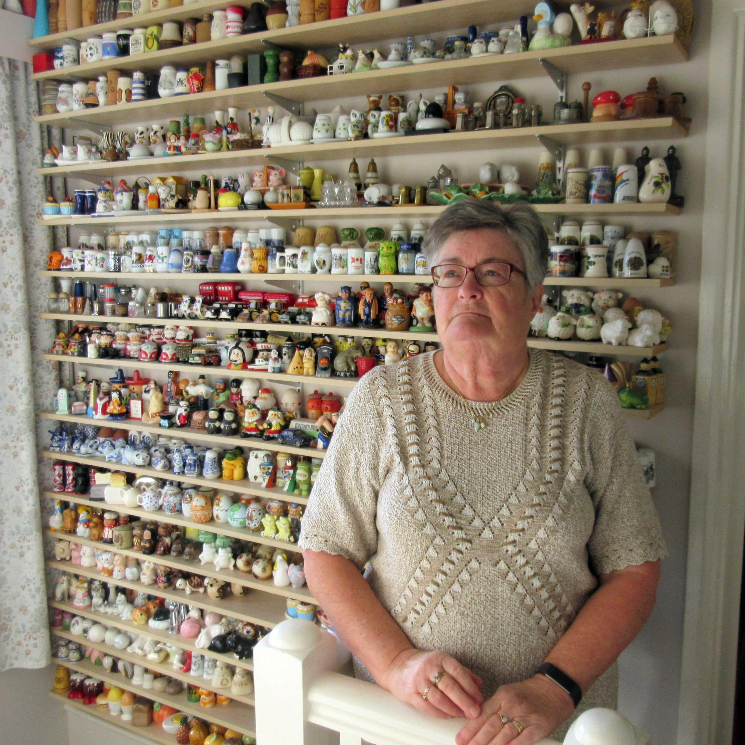Oakley couple's huge salt and pepper pot collection