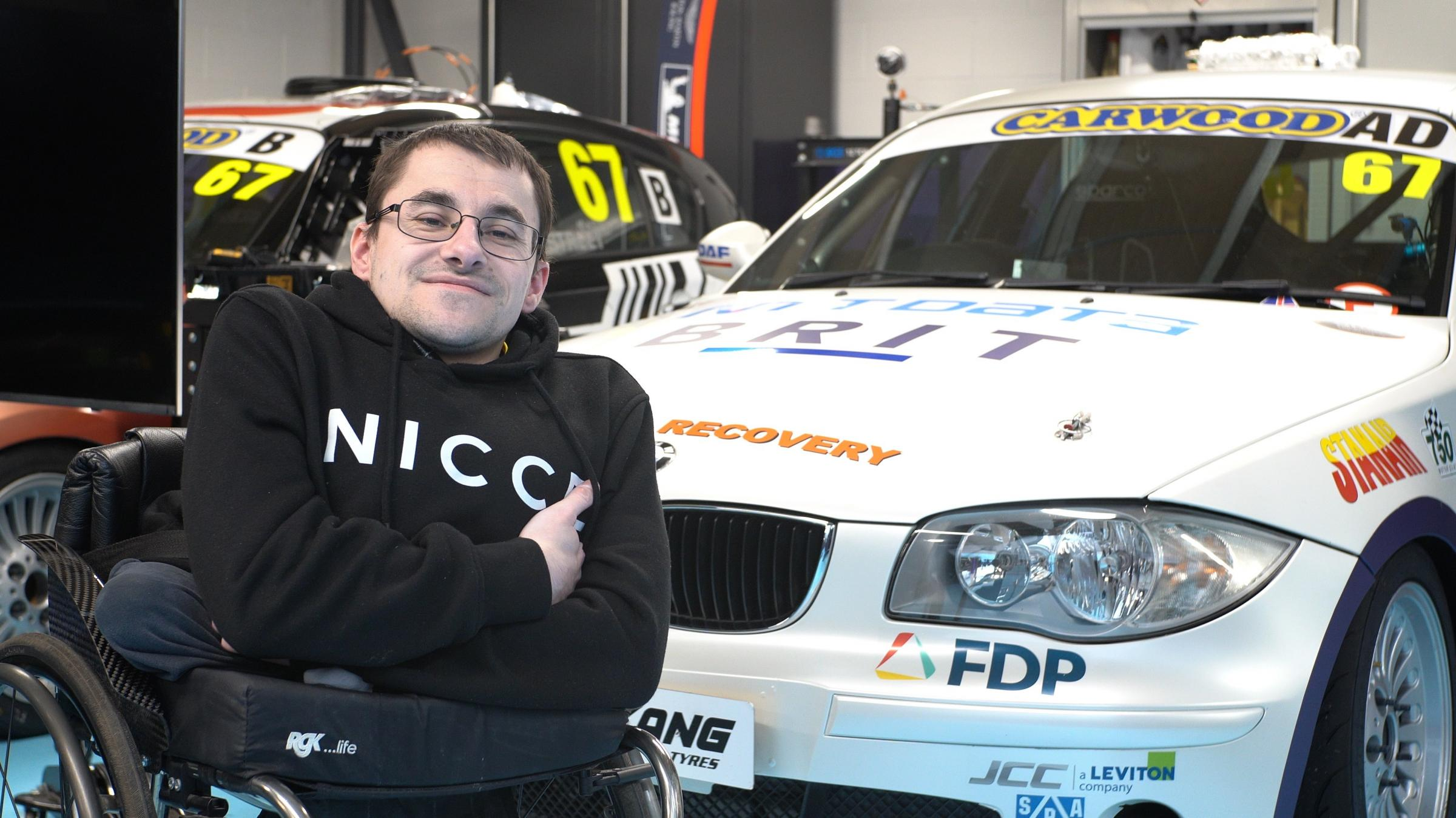 Disabled driver to get behind the wheel at Silverstone