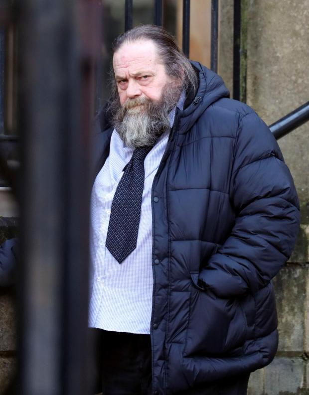 Oxford Mail: Wayne Rickard outside Reading Crown Court. Picture: Steve Parsons/PA