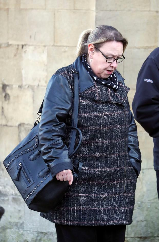Oxford Mail: Shanda Robinson outside Reading Crown Court. Picture: Steve Parsons/PA