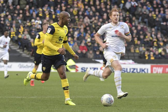 Rob Hall has made 24 appearances for Oxford United this season  Picture: David Fleming