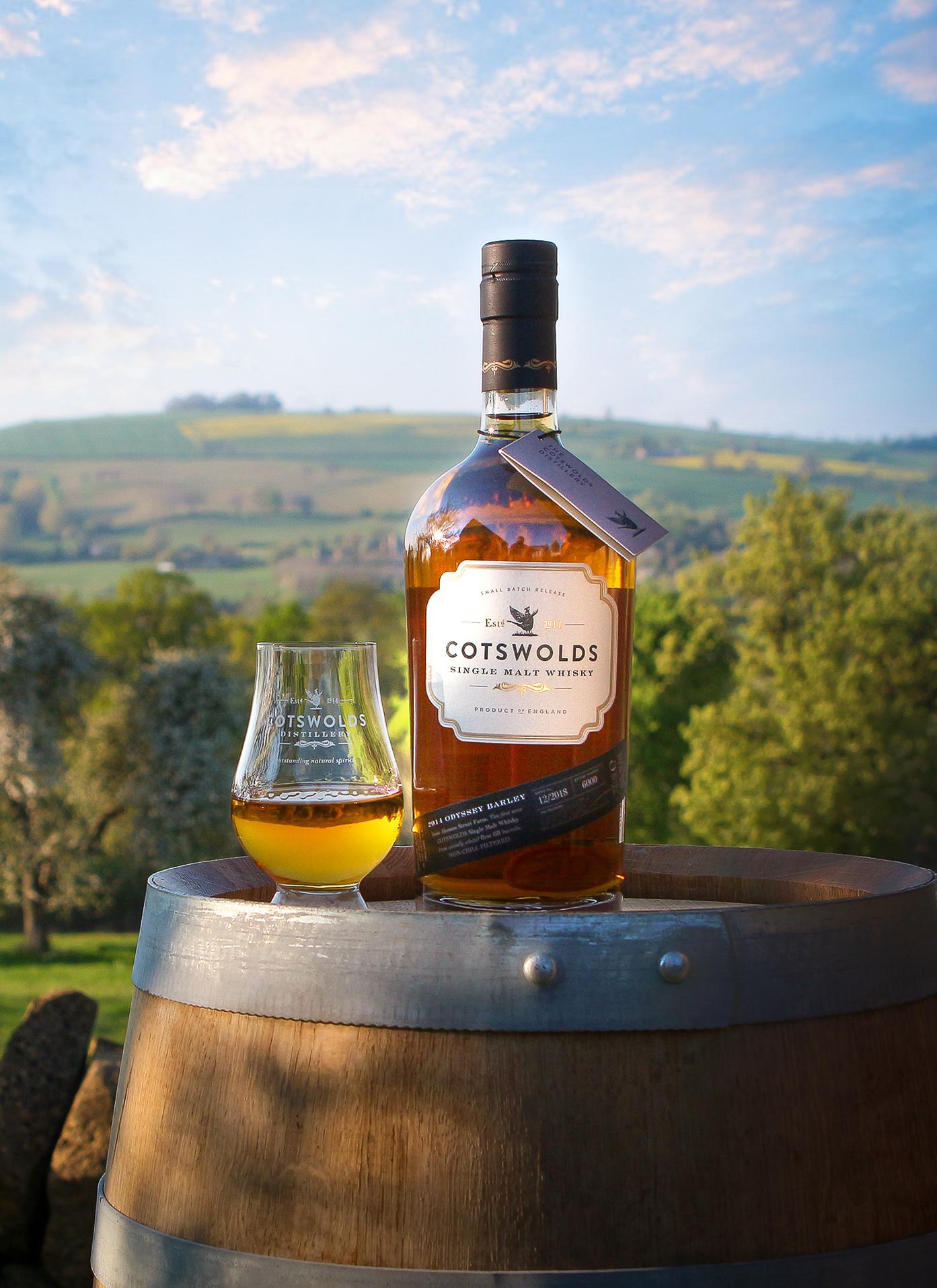'Celebrate Burns Night with a Cotswolds single malt whisky'