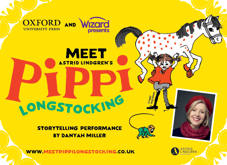 Meet Astrid Lindgren's Pippi Longstocking - storytelling performance by Danyah Miller
