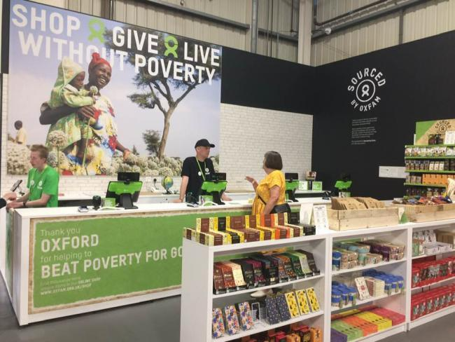 The new Oxfam superstore