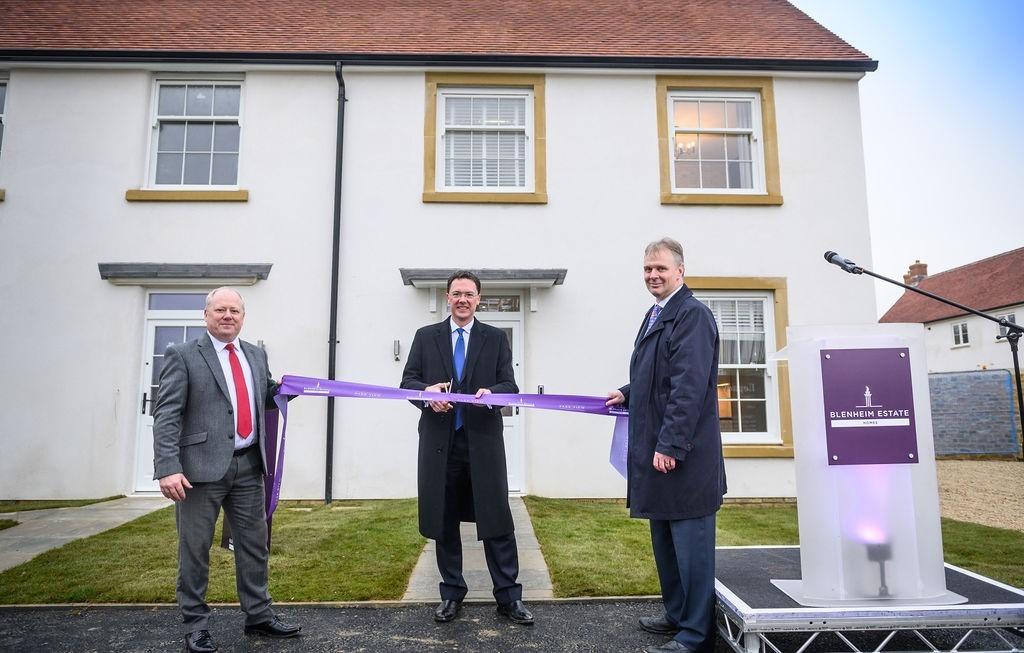 Blenheim unveils Park View housing estate in Woodstock