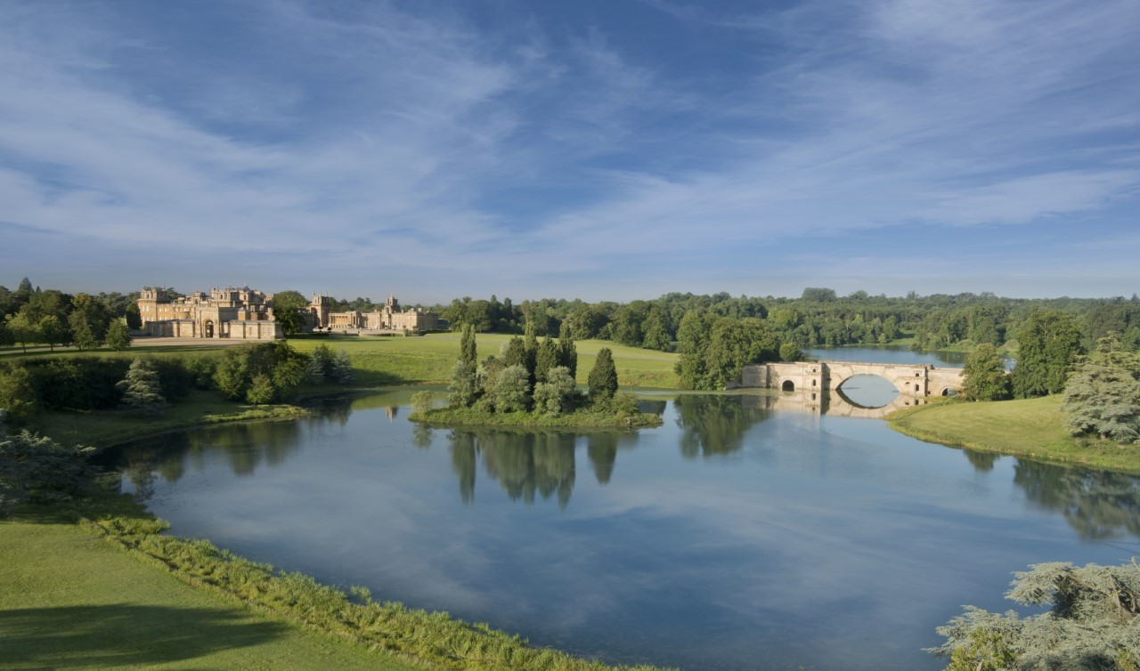 Blenheim Palace to dredge Queen Pool lake to present it disappearing