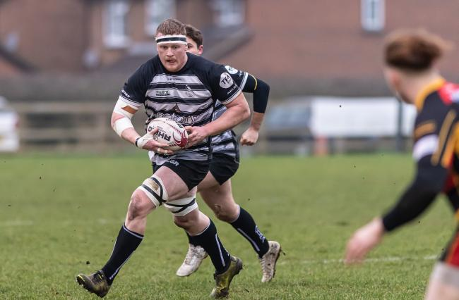 Chinnor's Jack Ramshaw could face former club Rotherham Titans Picture: David Howlett