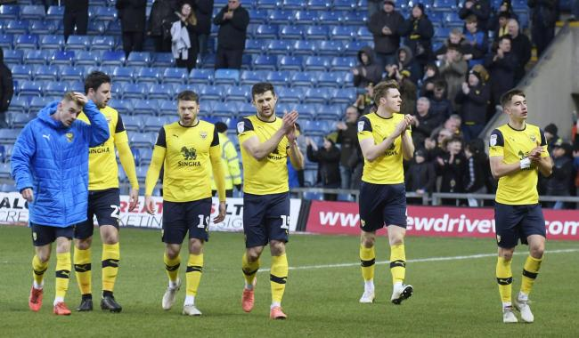 Oxford United's squad will have sessions away from the training ground this month to help them regroup    Picture: David Fleming