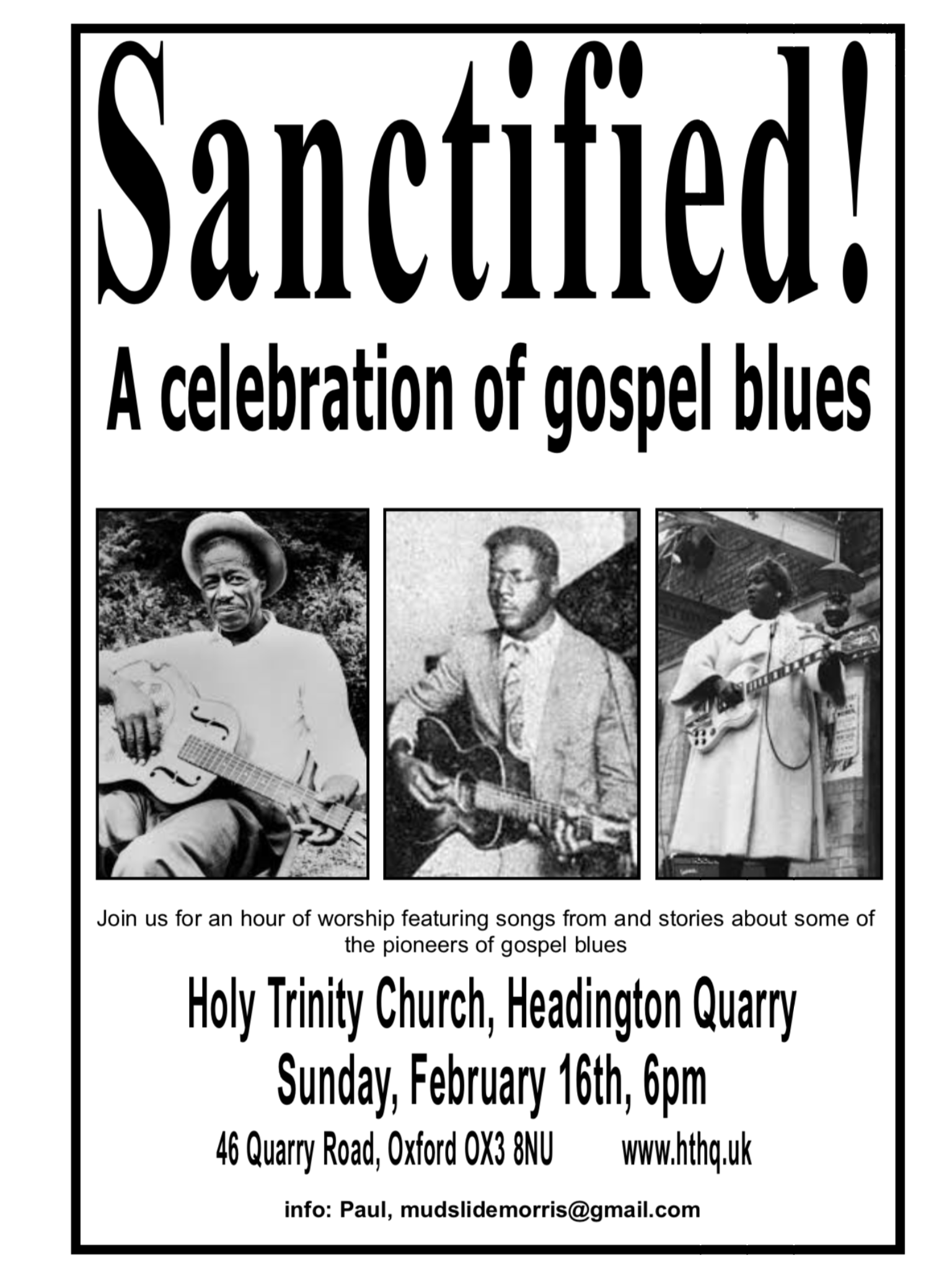 Gospel Blues Service