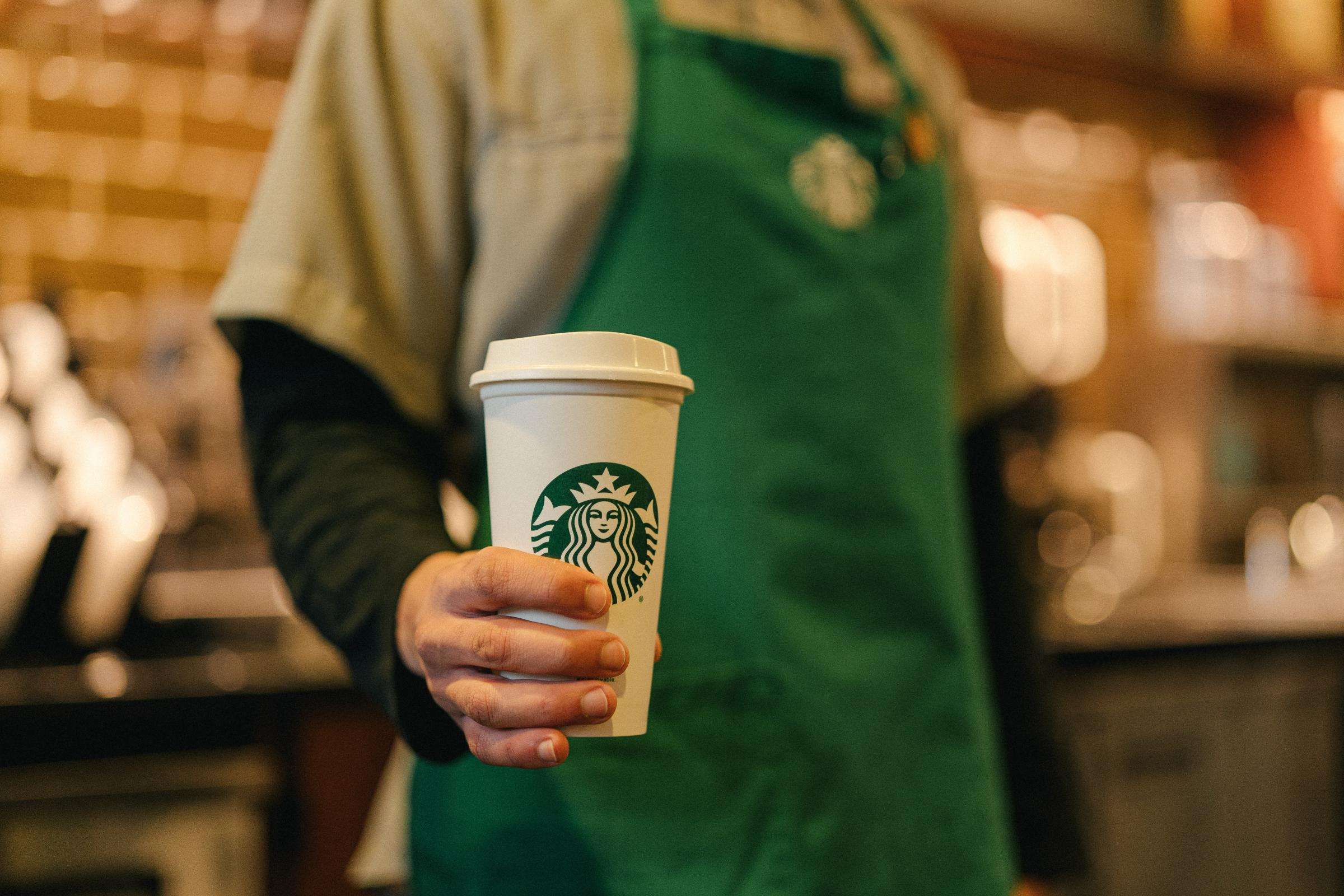 Starbucks bans personal cups to stop spread of coronavirus