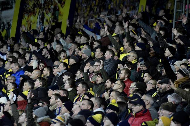 Oxford United supporters have enjoyed some big occasions this season   Picture: David Fleming