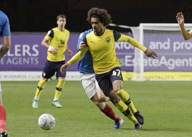 Fabio Lopes scored a 92nd-minute equaliser for Oxford United   Picture: David Fleming