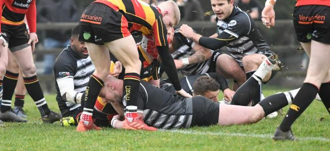 Chinnor's Nick Selway has scored six tries in his last five games Picture: Simon Cooper