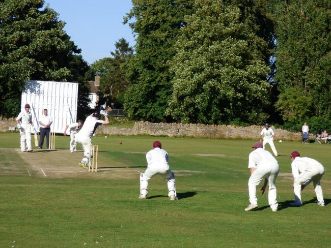 Witney Mills Cricket Club's Newland home Picture: Mike Dove