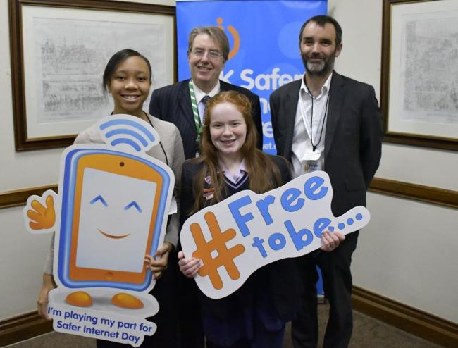 Henley MP John Howell is campaigning to make the internet a safer place for young people.