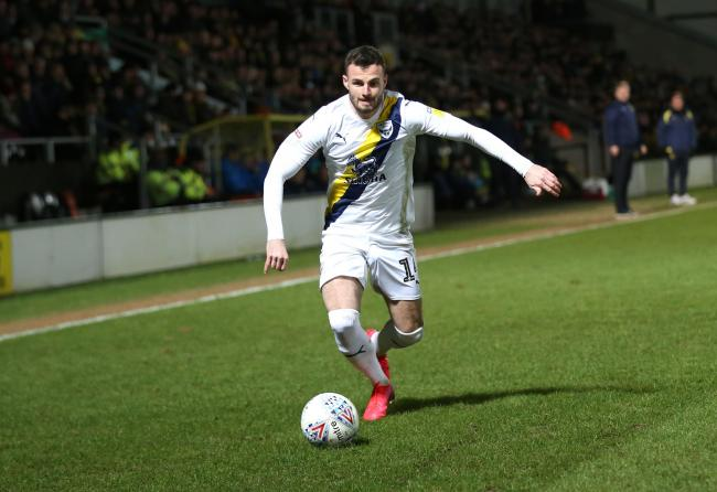 Anthony Forde returned on Tuesday night   Picture: Richard Parkes