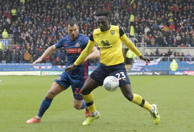 Dan Agyei made his first league start for Oxford United   Picture: David Fleming