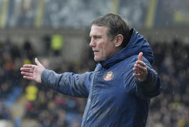 Sunderland boss Phil Parkinson on the touchline at Oxford United   Picture: David Fleming