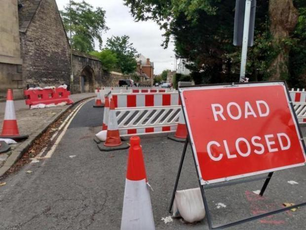 The Walton Street road closure Picture Andy Ffrench