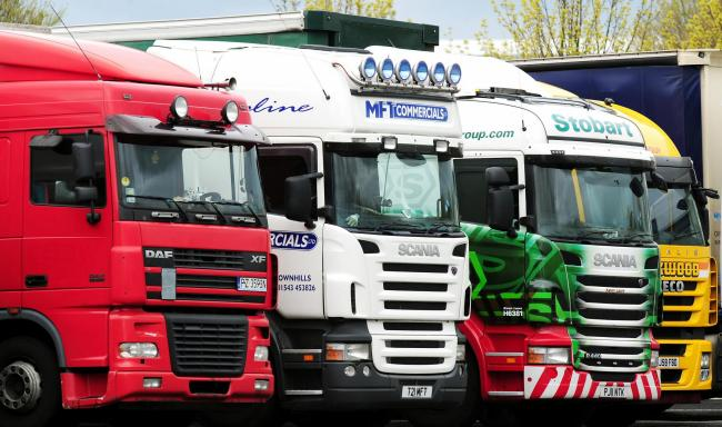 File photo of HGV lorries.
