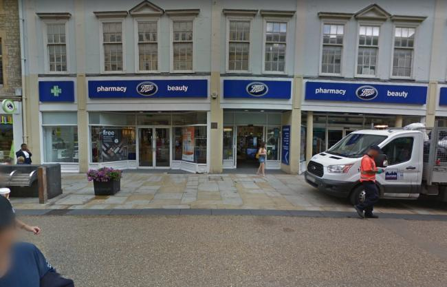 Boots on Cornmarket Street. Pic from Google Maps.