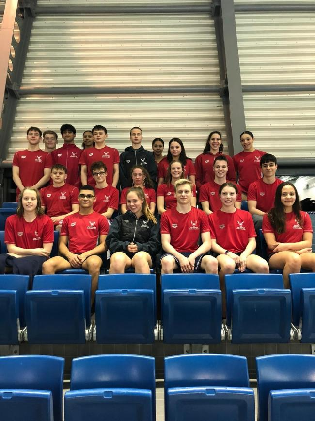 City of Oxford Swimming Club at the Oxfordshire and North Bucks Counties Championships Picture: Nicola Brown