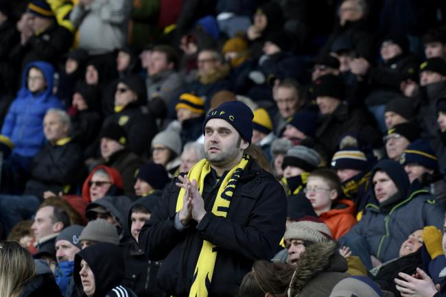 Oxford United's last game at the Kassam Stadium with supporters was against Southend United in February   Picture: David Fleming