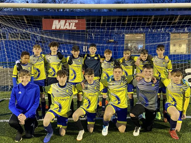 Launton Athletic reached the final of the Oxford Mail Youth League Under 14 Trophy with a 2-0 victory over Cold Ash Boys & Girls. Josh Campbell and Charlie Cotter scored their goals at Court Place Farm