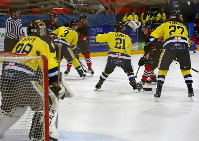 Oxford City Stars in action during their 5-4 defeat to MK Thunder Picture: John Welsby