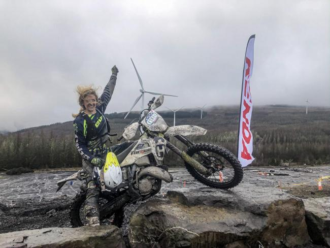 Inspiring racer Vanessa Ruck has received sponsorship from major brands like Husqvarna UK, Michelin tyres, Teng Tools, Pro-Green MX, Hebo Factory and Cardo Systems