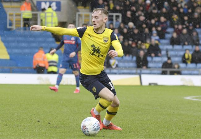 Mark Sykes has been a regular for Oxford United this season   Picture: David Fleming
