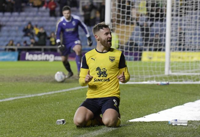 Matty Taylor scored 17 goals for Oxford United last season   Picture: David Fleming