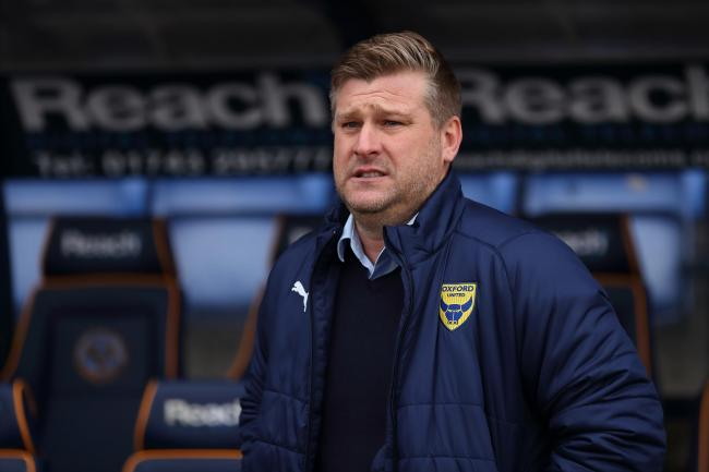 Oxford United boss Karl Robinson   Picture: James Williamson