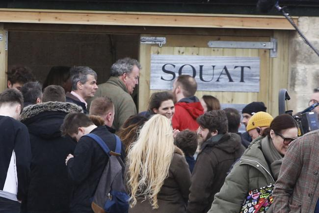 Jeremy Clarkson welcomes 'panic buyers' to Diddly Squat farm shop