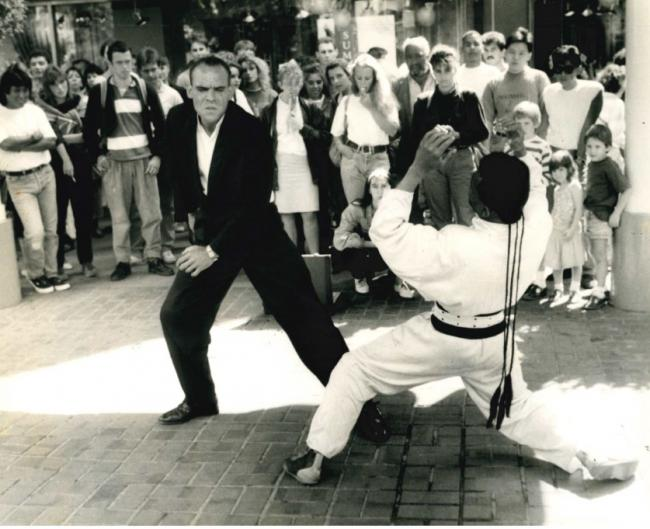 Mime dancers faced arrest for their popularity in August 1989
