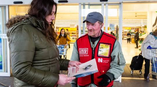 Sainsbury's will now stock The Big Issue in selected stores and online