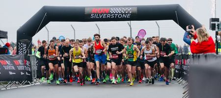 Run Silverstone Half Marathon, 10K, 5K & Family Mile - Sun 15 November 2020